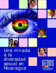 Una mirada a la diversidad sexual en Nicaragua