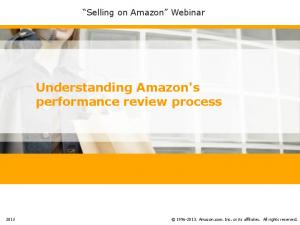 Understanding Amazon's performance review process