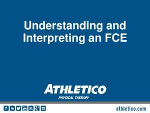 Understanding and Interpreting an FCE