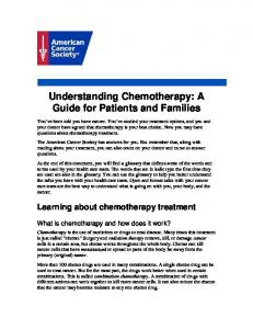 Understanding Chemotherapy: A Guide for Patients and Families