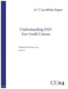 Understanding EMV For Credit Unions