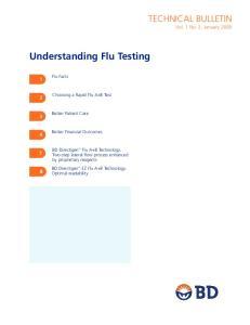 Understanding Flu Testing