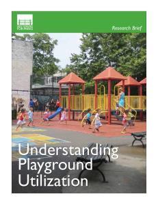 Understanding Playground Utilization. Research Brief