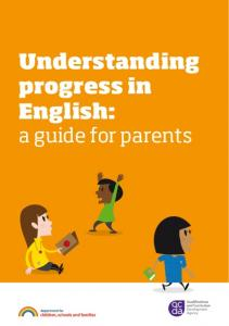 Understanding progress in English: a guide for parents
