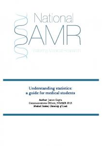 Understanding statistics: a guide for medical students