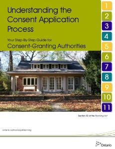 Understanding the Consent Application Process
