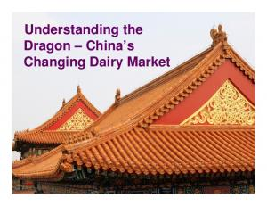Understanding the Dragon China s Changing Dairy Market