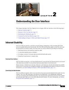 Understanding the User Interface