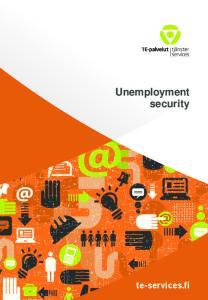 Unemployment security
