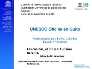 UNESCO Oficina en Quito