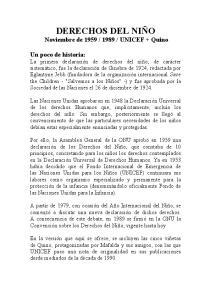 UNICEF + Quino