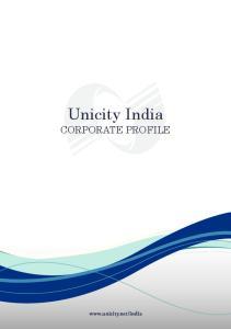 Unicity India CORPORATE PROFILE