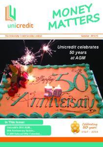 Unicredit celebrates 50 years at AGM