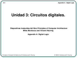 Unidad 3: Circuitos digitales