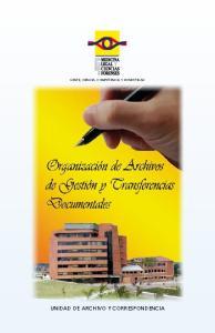 UNIDAD DE ARCHIVO Y CORRESPONDENCIA