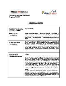 Unidad OBJETIVO DEL PROGRAMA DESCRIPCION DEL PROGRAMA