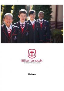 Uniform Ordering. Opening Hours (during term) Contact the Uniform Shop. Online Ordering
