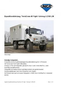 Unimog U 2150 L38