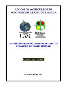 UNION DE AGRICULTORES MINIFUNDISTAS DE GUATEMALA