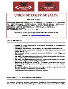 UNION DE RUGBY DE SALTA