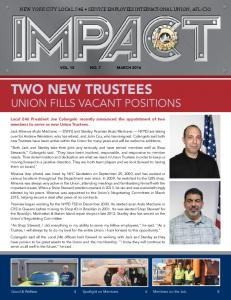 union fills vacant positions