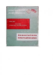 UNION OF INTERNATIONAL ASSOCIATIONS
