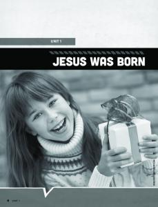 UNIT 1 JESUS WAS BORN IMAGE CREDIT: SHUTTERSTOCK.COM UNIT 1