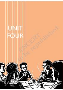 UNIT FOUR NCERT. not to be republished