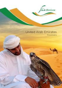 United Arab Emirates. Excursions