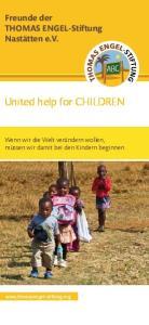 United help for CHILDREN