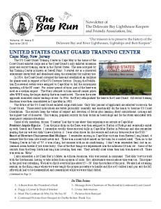 UNITED STATES COAST GUARD TRAINING CENTER