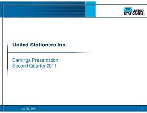 United Stationers Inc