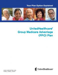 UnitedHealthcare Group Medicare Advantage (PPO) Plan