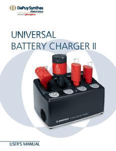 universal battery Charger II