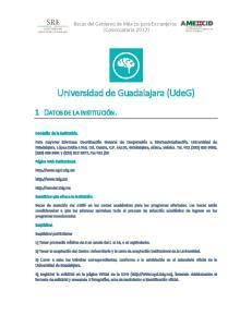 Universidad de Guadalajara (UdeG)