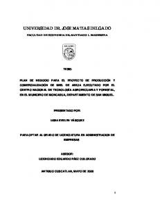 UNIVERSIDAD DR. JOSE MATIAS DELGADO