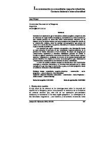 Universidad Nacional de la Patagonia Argentina Resumen