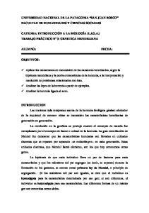 UNIVERSIDAD NACIONAL DE LA PATAGONIA SAN JUAN BOSCO FACULTAD DE HUMANIDADES Y CIENCIAS SOCIALES