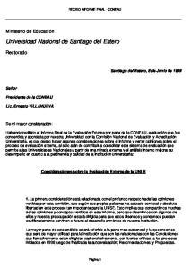 Universidad Nacional de Santiago del Estero