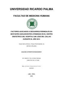 UNIVERSIDAD RICARDO PALMA