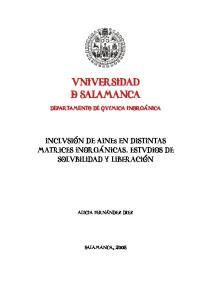 Universidad & salamanca
