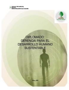 Universidad Valle del Momboy Rectorado Centro de Desarrollo Humano Sustentable