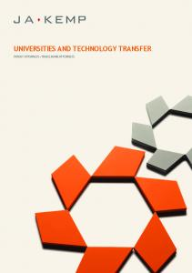 UNIVERSITIES AND TECHNOLOGY TRANSFER PATENT ATTORNEYS TRADE MARK ATTORNEYS