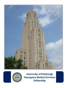 University of Pittsburgh Emergency Medical Services Fellowship
