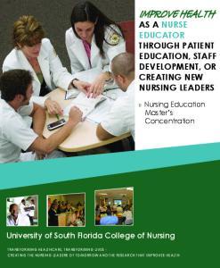 University of South Florida College of Nursing