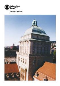 University of Zurich Faculty of Medicine