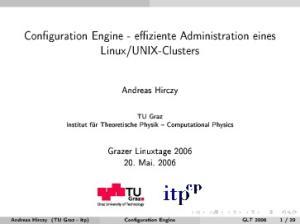 UNIX-Clusters