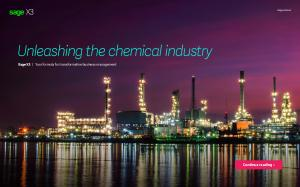 Unleashing the chemical industry