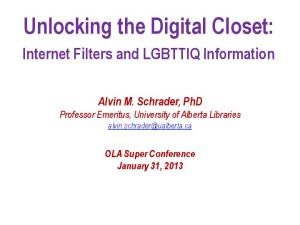Unlocking the Digital Closet: