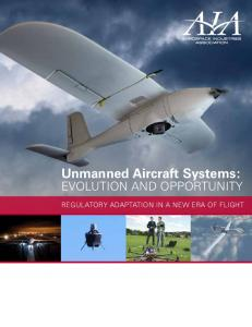 Unmanned Aircraft Systems: